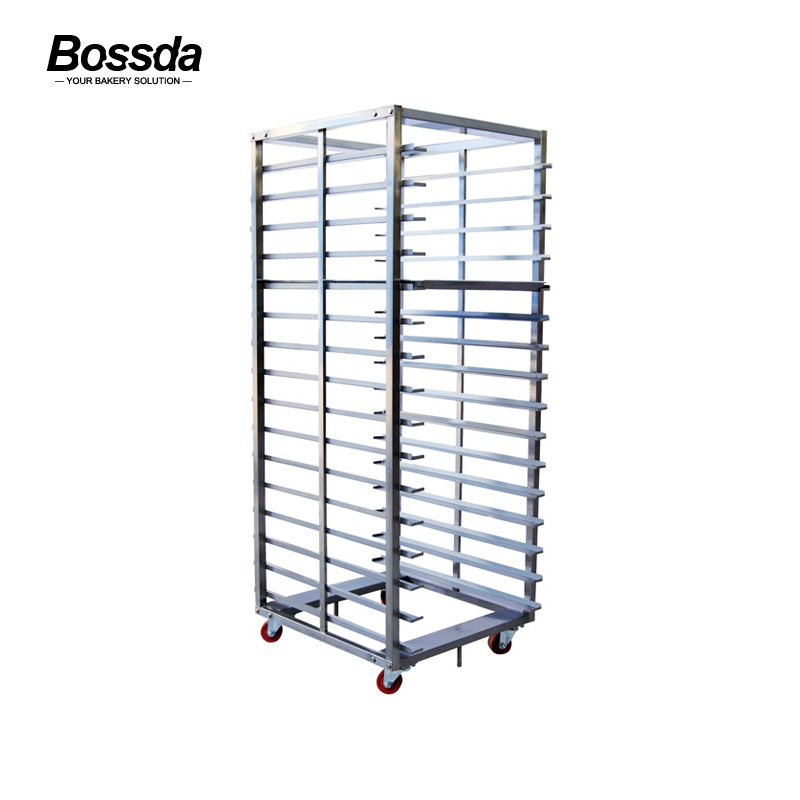 Baking Rotary Rack Oven Trolley Frame with Wheels
