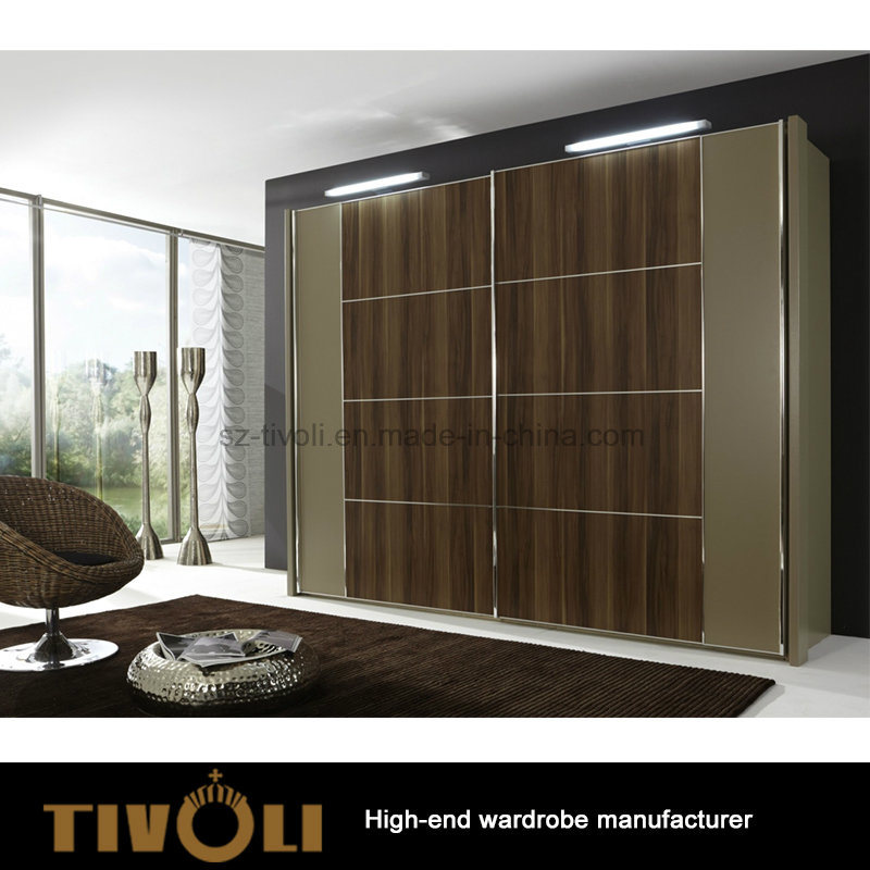 Large Wardrobe Cabinet Tall Closet with Drawers and Shelves Tivo-0069hw