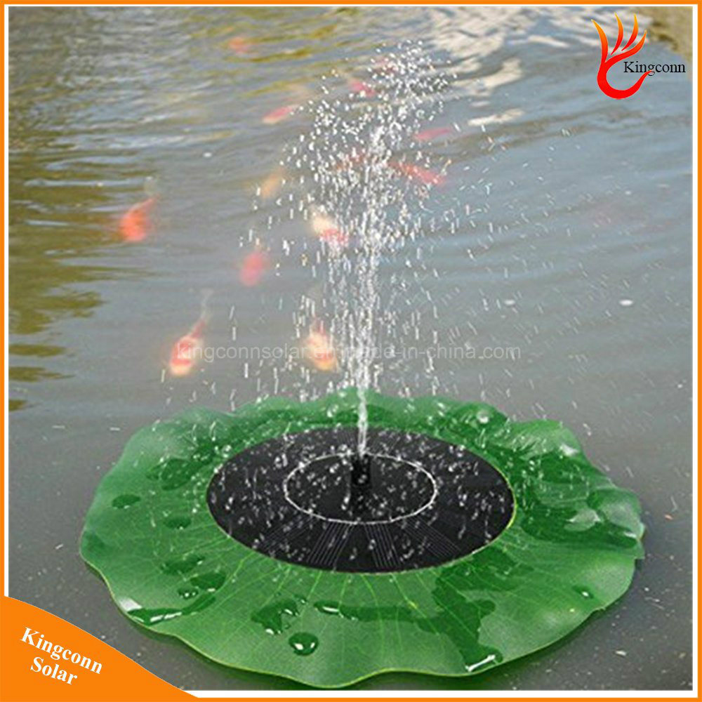 Solar Water Pump Garden Plants Solar Power Fountain Pool Light