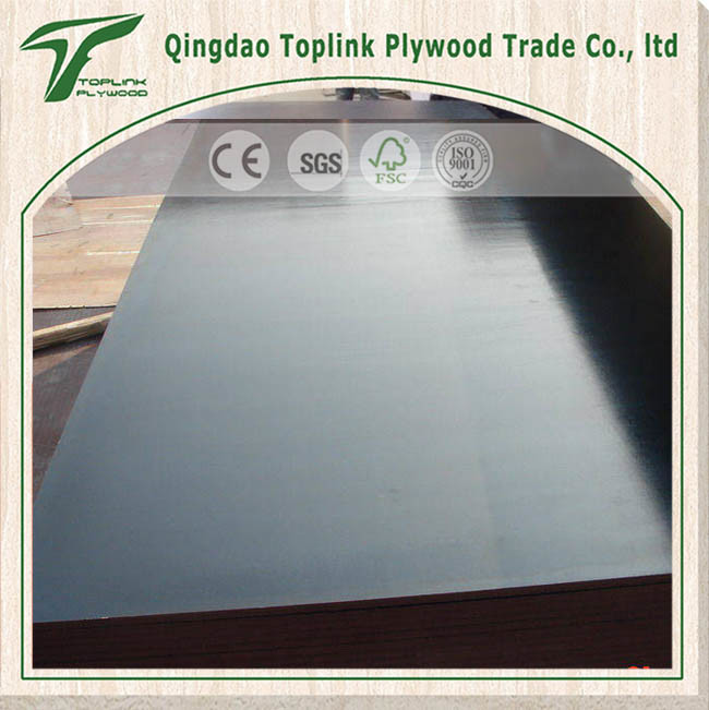 Waterproof Glue Black and Brown Concrete Formwork Plywood for Construction
