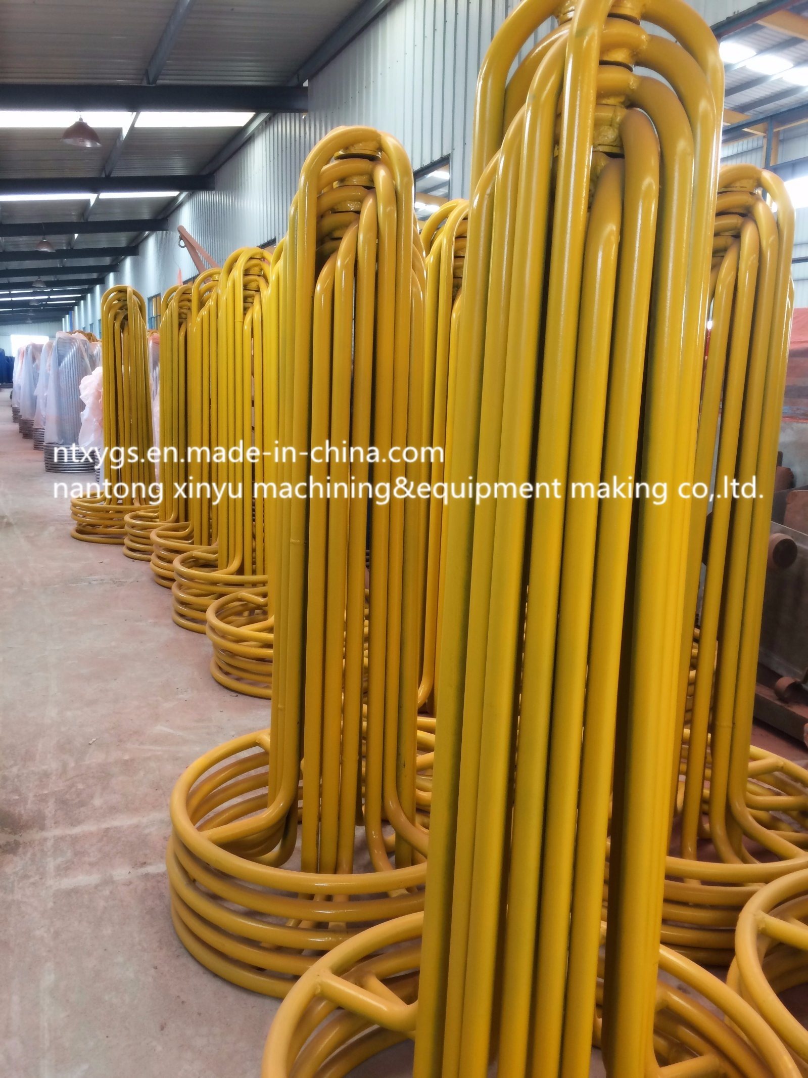 Factory Outlet Yollow Round Base Steel Wire Carrier