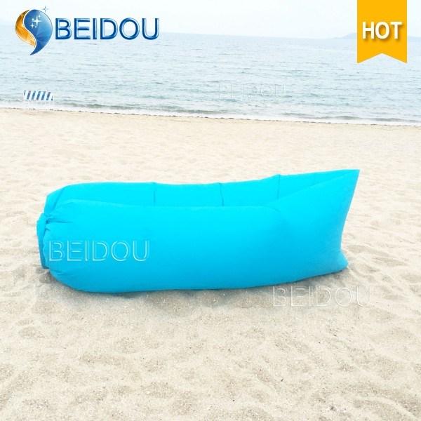 New 1-Mouth Inflatable Air Sofa Lazy Sleeping Bag Laybag