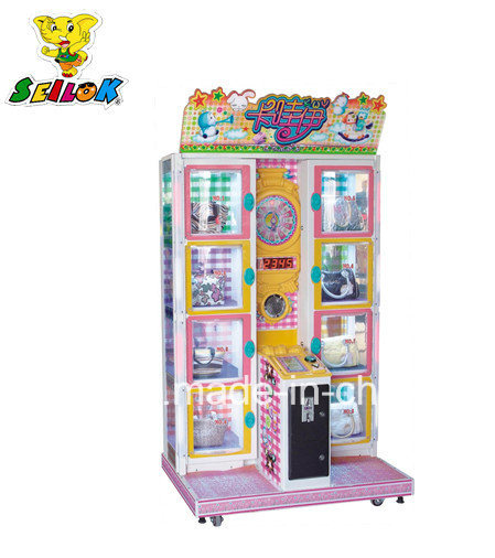Happy Door Coin Operated Toy Vending Prize Game Machine Happy Door Coin Operated Games Vending Machine