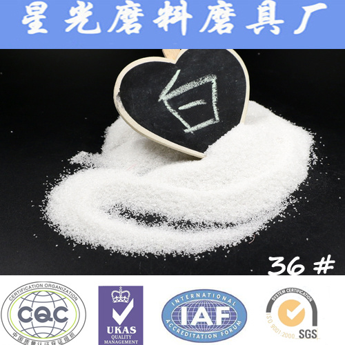 99.9% Al2O3 White Fused Alumina for Sandblasting Media