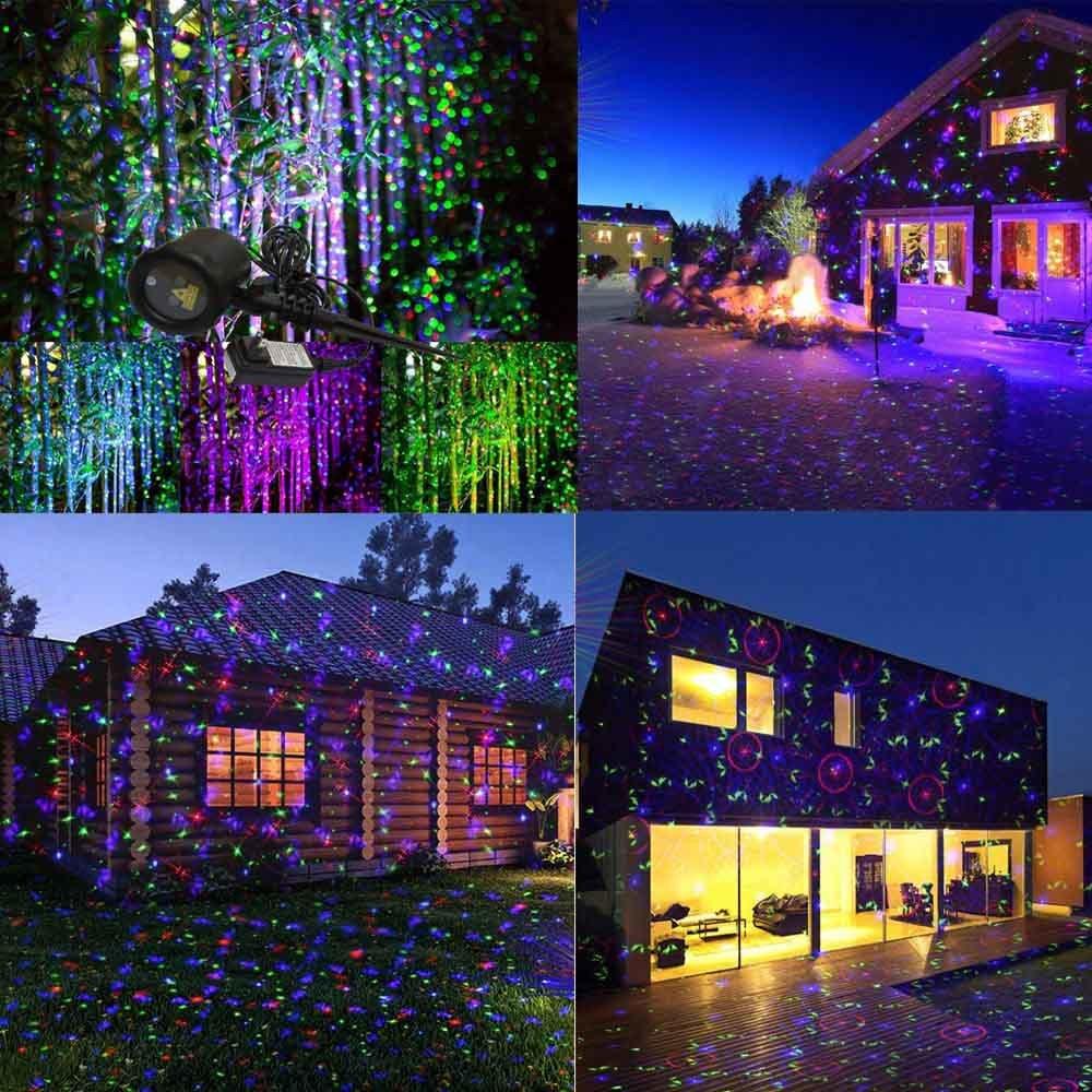 2017 China Aluminum Outdoor RGB Mini Christmas Waterproof Garden Laser Lighting