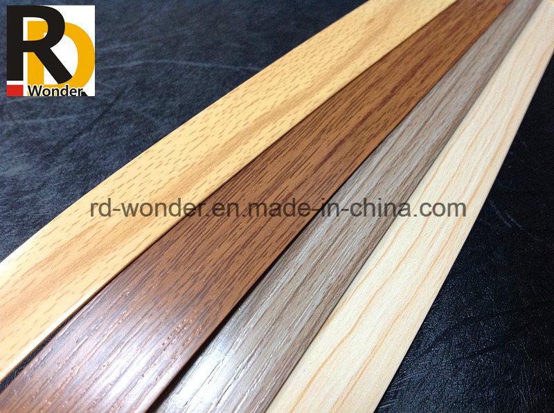 Wood Grain Decorated Furniture PVC Edge Banding