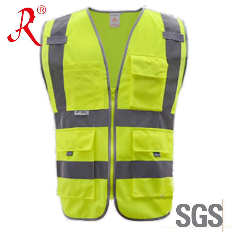 Cheap Work Clothes for Men with 3m Reflective Tape (QF-580)