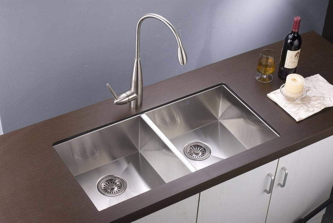 Double Sinks For Kitchen : China Double Bowl Sink (F8138) - China Sink, Kitchen Sink