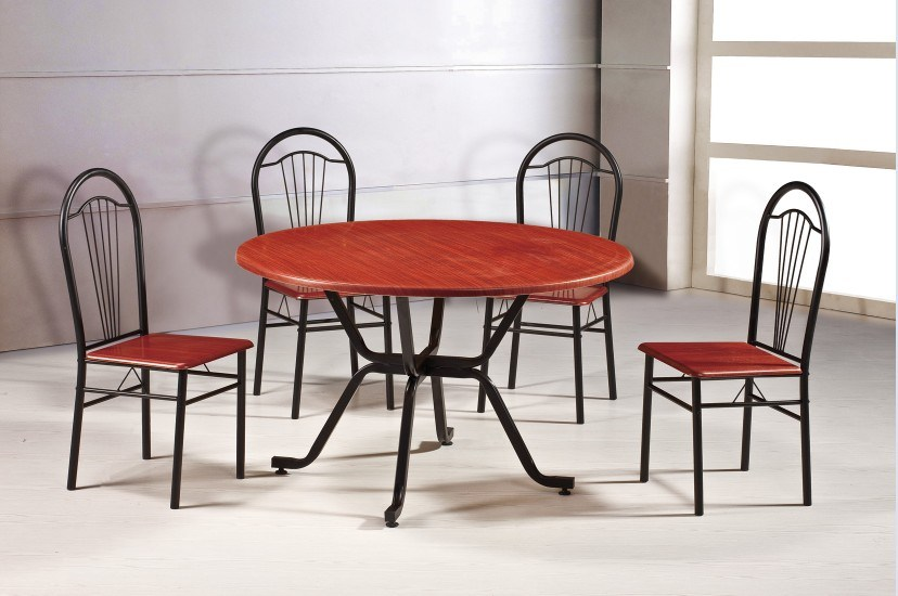 dining table metal dining table set