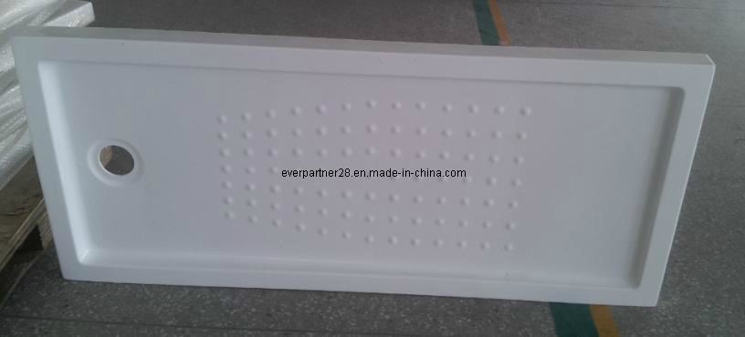 Semi-Arc Acrylic Shower Tray, Acrylic Shower Plate, Acrylic Shower Basin