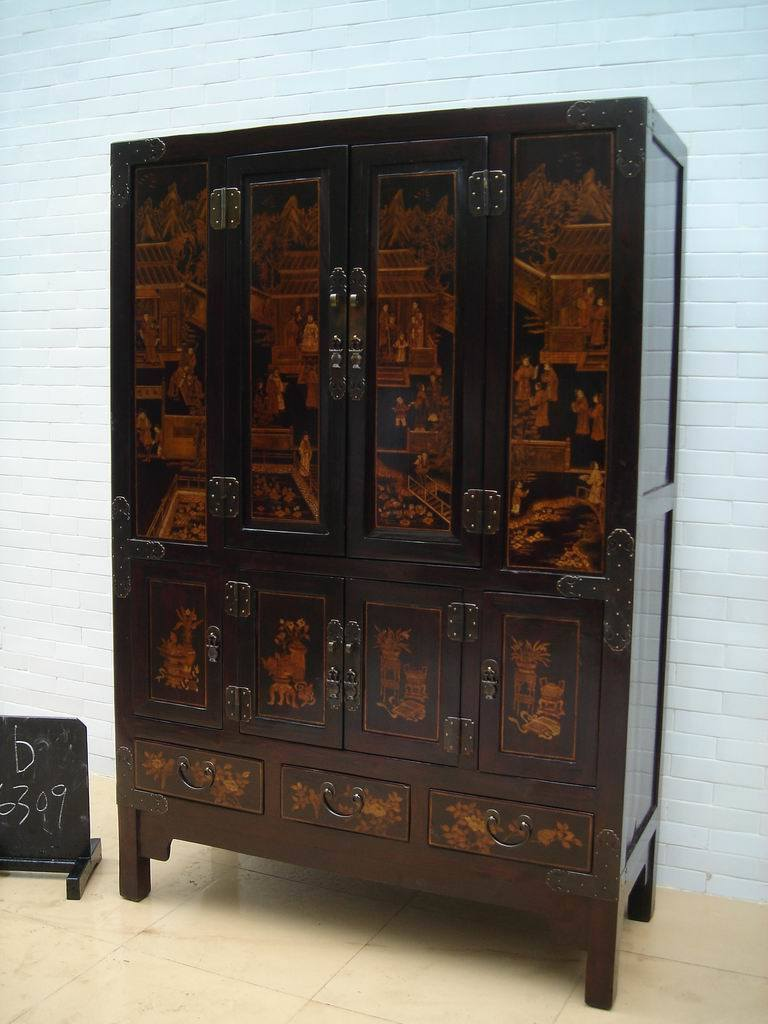 Chinese antique furniture cabinet b6309 china for Chinese furniture