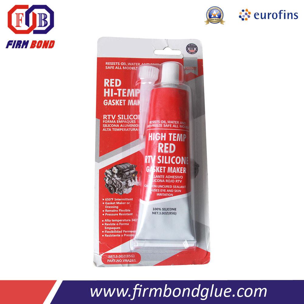 Customized Brand Air Compressor Black Gasket Maker Silicone