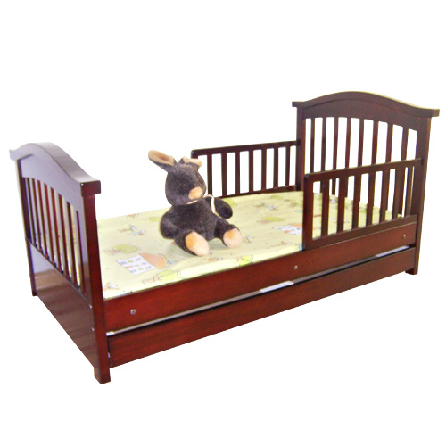 China Wooden Toddler Bed Sy420
