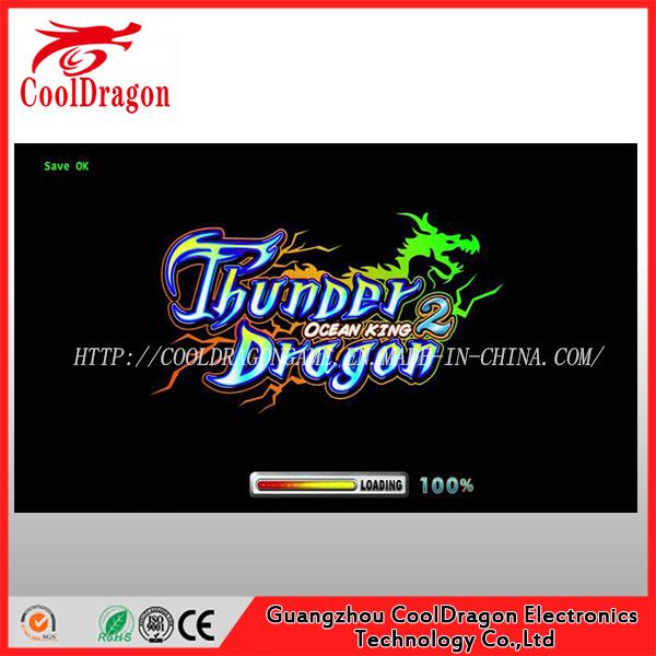Thunder Dragon Multiplier Skilled Fish/Fishing Hunter Game Machine