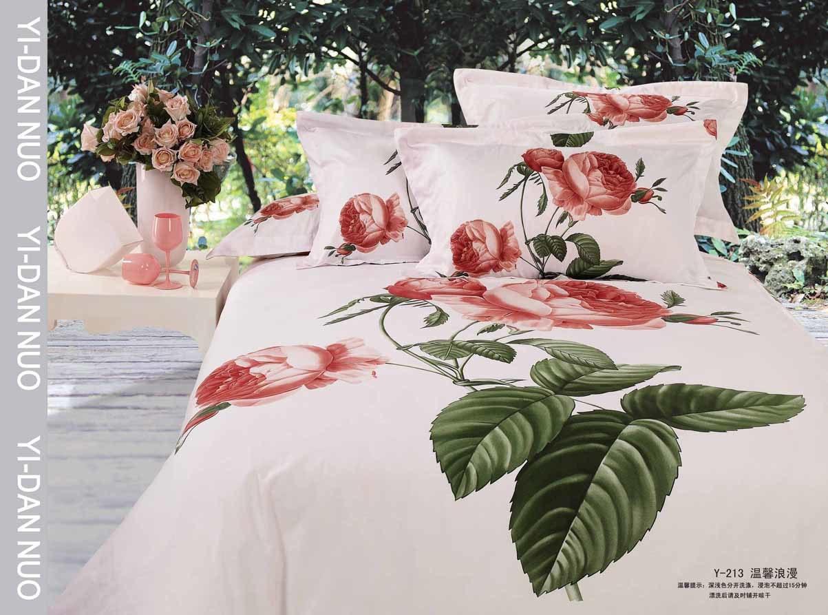Reactive Flower Designs Cotton
