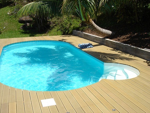 Wooden decking wooden decking pools for Wooden pool