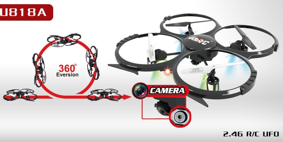 4G 4CH RC RC Camera Quadcopter with Protection