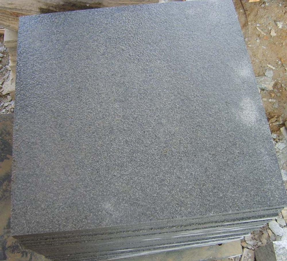 China Own Quarry Flamed Red Granite Tile Flooringfl On: China Flamed G654 Impala Dark Granite Tiles For Floor