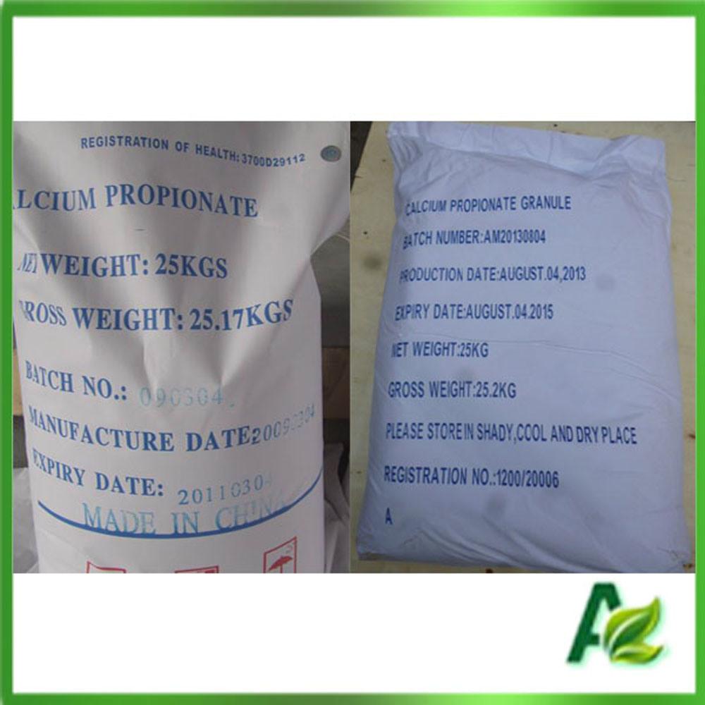 Food/Feed Additive Calcium Propionate Granular Competitive Price CAS 4075-81-4
