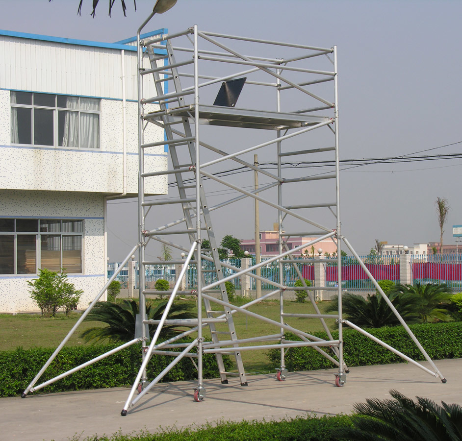 Aluminum Scaffold Tower : China m aluminum scaffold tower