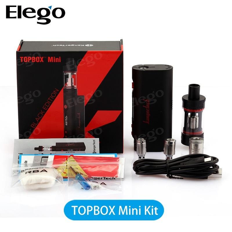 100% Authentic Kanger Topbox Mini Starter Kit E Cigarette (75W)