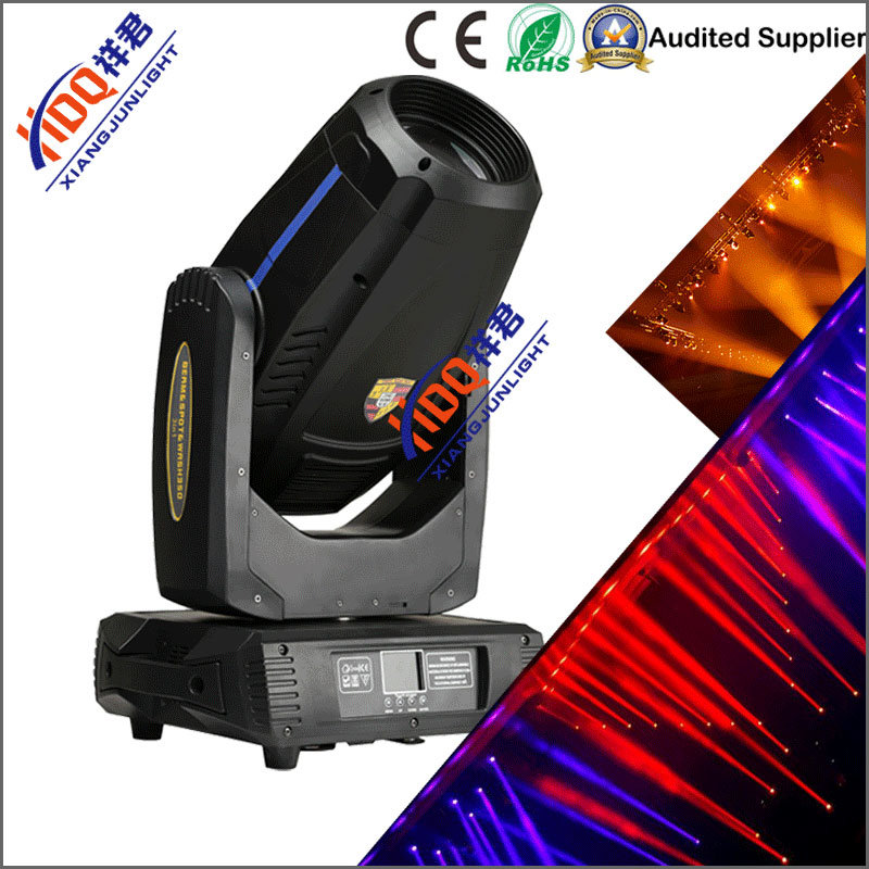350W LED Beam Wash Spot 3in1 Zooming Moving Head Light with Cmy