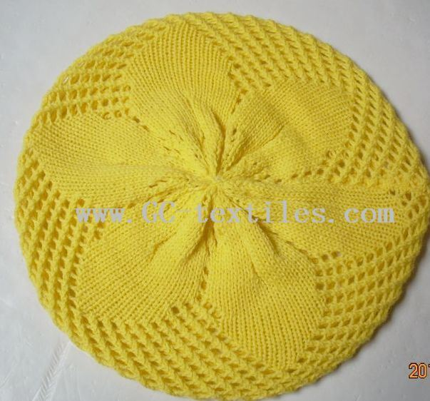 Crocheted Beret Directions | eHow.com