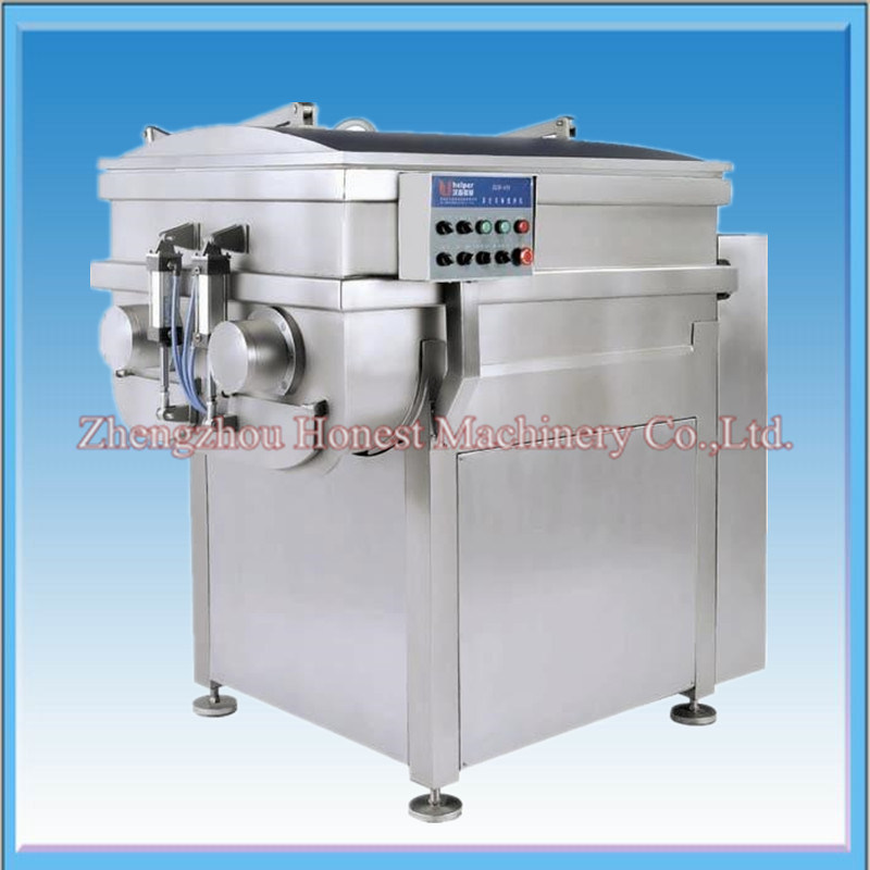 Vacuum Double Shaft Meat Mixer/ Meat Processing Machine
