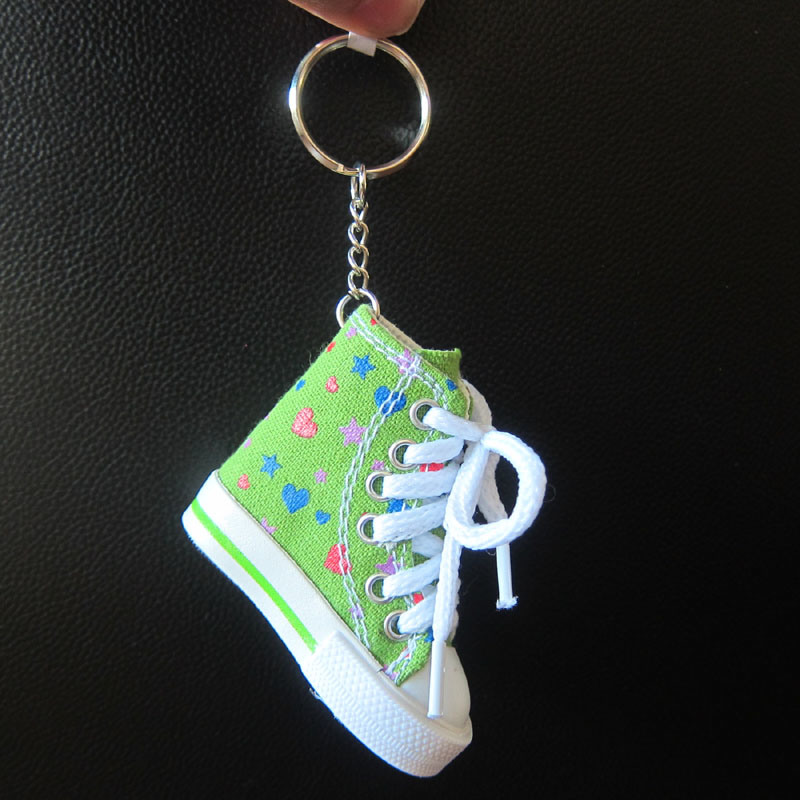 Key Ring, Custom Shoe Keychain Plastic/PVC/Metal Key Chain