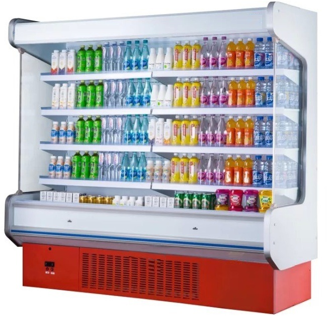 2.0m Multi-Deck Supermarket Display Refrigerator