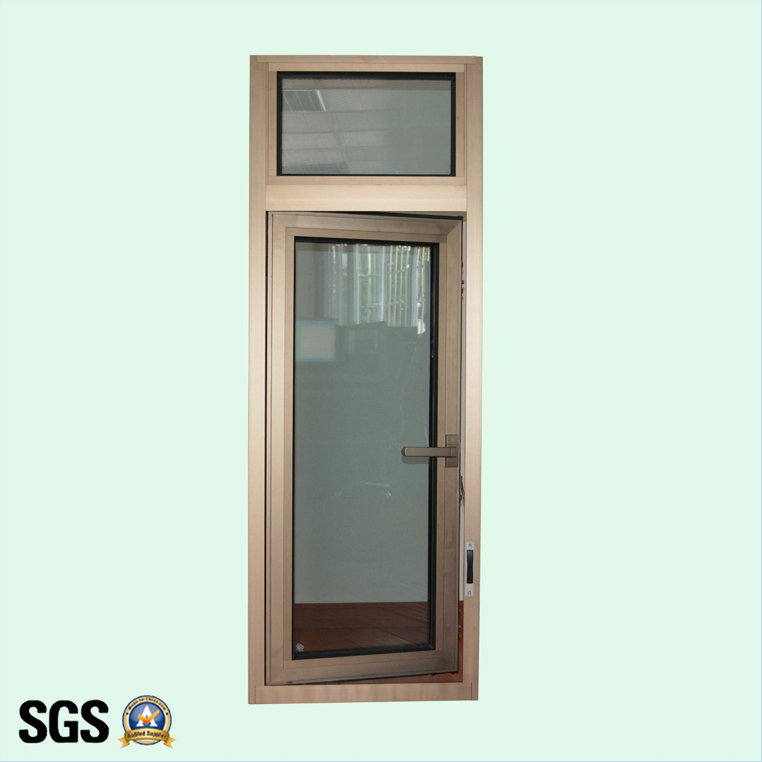 High Quality Anodized Aluminum Profile Casement Window with Multi Point Lock K03005