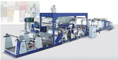 Doule Extruder Laminating Machine, Double Extruding Machine (SJFM1100-1900)