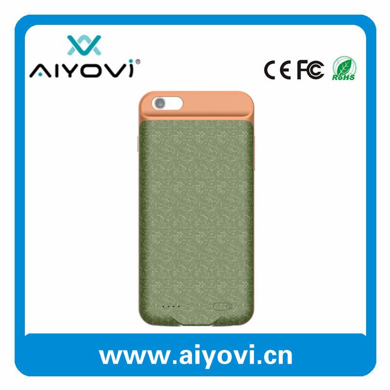Custom Colors Power Case for iPhone 6s/6plus 2500mAh