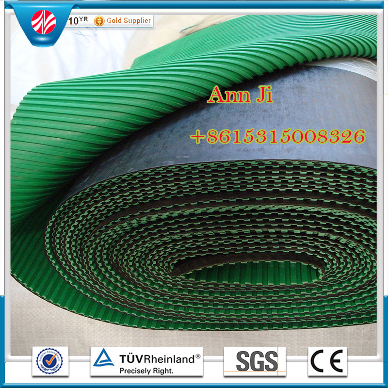Color Industrial Rubber Sheetl, Anti-Abrasive Sheet, Fiber Rubber Flooring