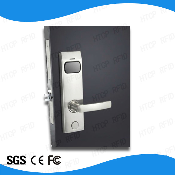Zinc Alloy Mf Card ANSI Mortise Electronic Lock for Hotel Door (L923-M)