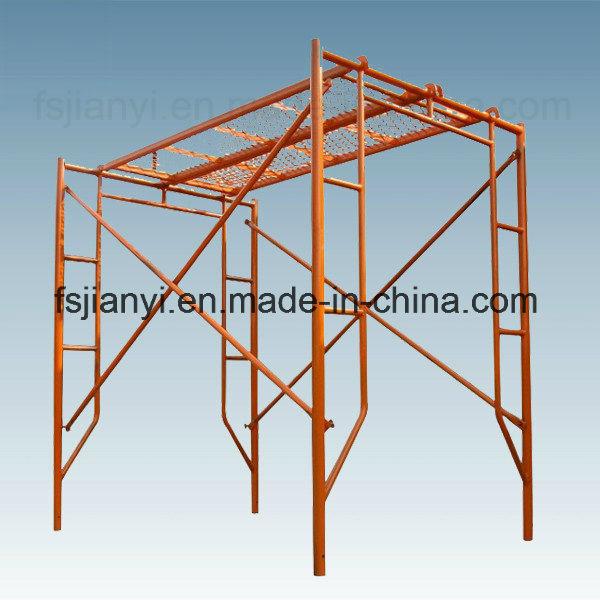 Flexibility Construction Equipment Steel H Frame Scaffold
