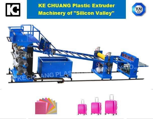 PC/ABS/ PP/PE Plastic Extruder Machine