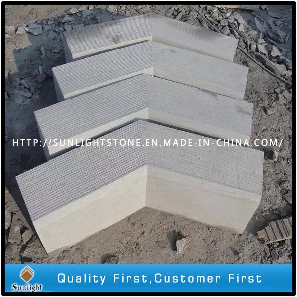Chinese Limestone and Bluestone Kerbstone