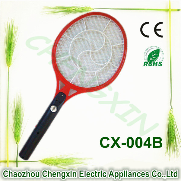 China Factory Rechargeable Mosquito Killing Racket Durable Net with Light