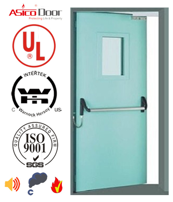 UL Certified Steel Door Fire Door American Standard 1.0hour up to 3.0hours Safety Door