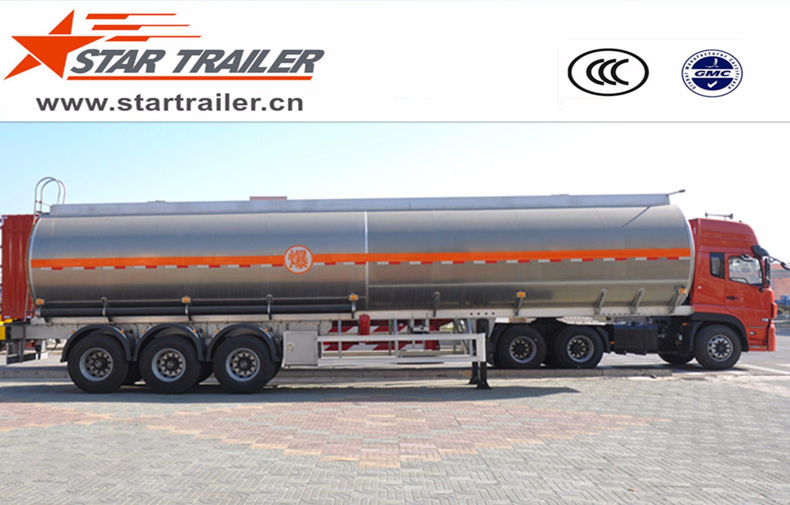 3 Axles Fuel Transport Tank Trailer