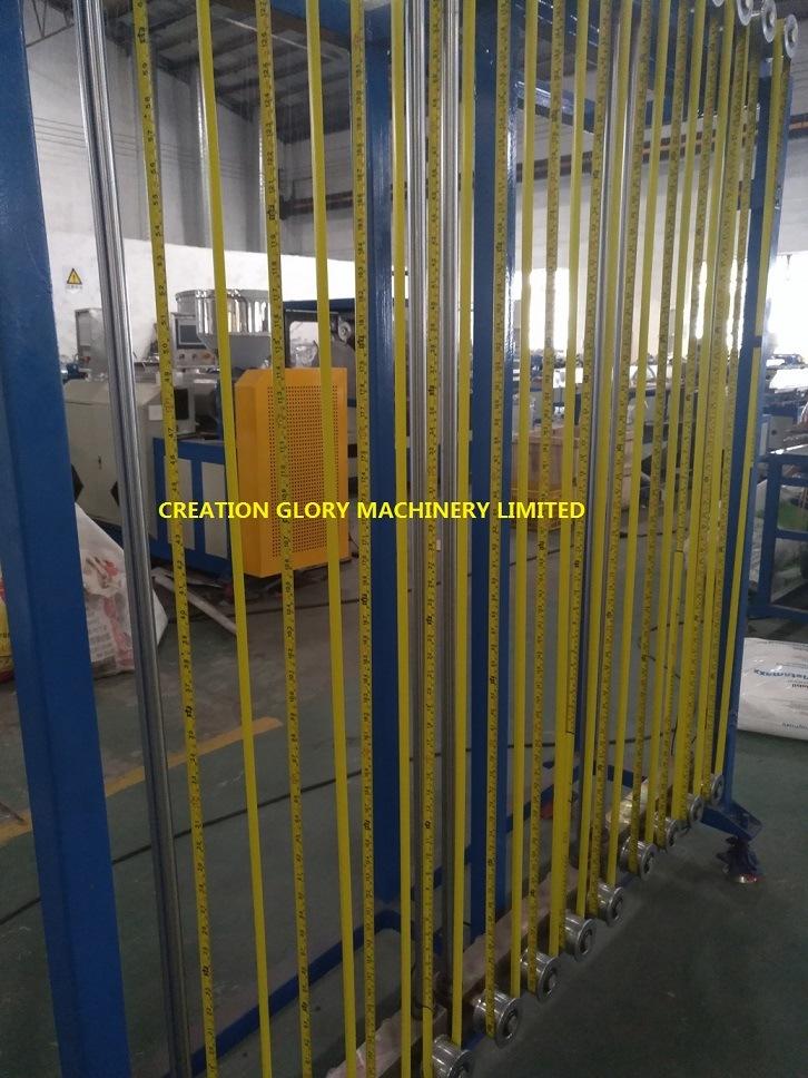 Leading Technology Steel Measure Tape Nylon Coating Extruder Machine