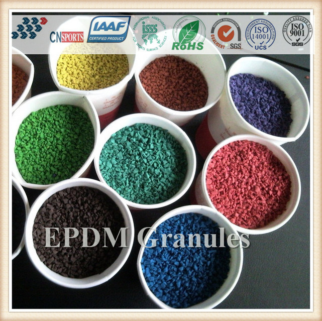 Excellent Quality Wear-Resistance EPDM Granule for Running Track