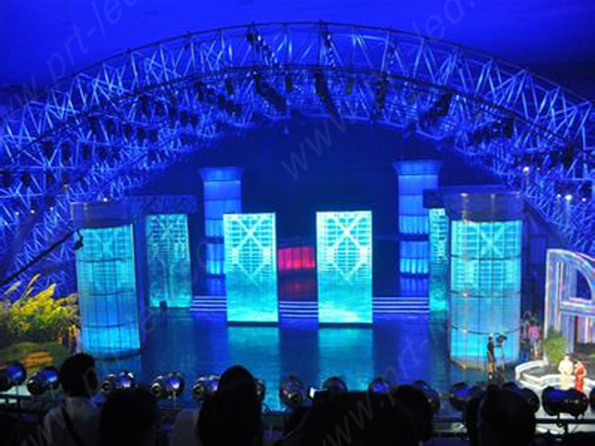 Full Color Stage Background LED Video Wall with 640X640mm Board for Indoor/Outdoor (P5, P6.67, P8)