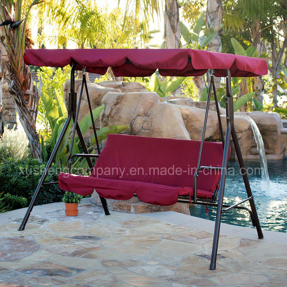 3 Seat Garden Swing Chair