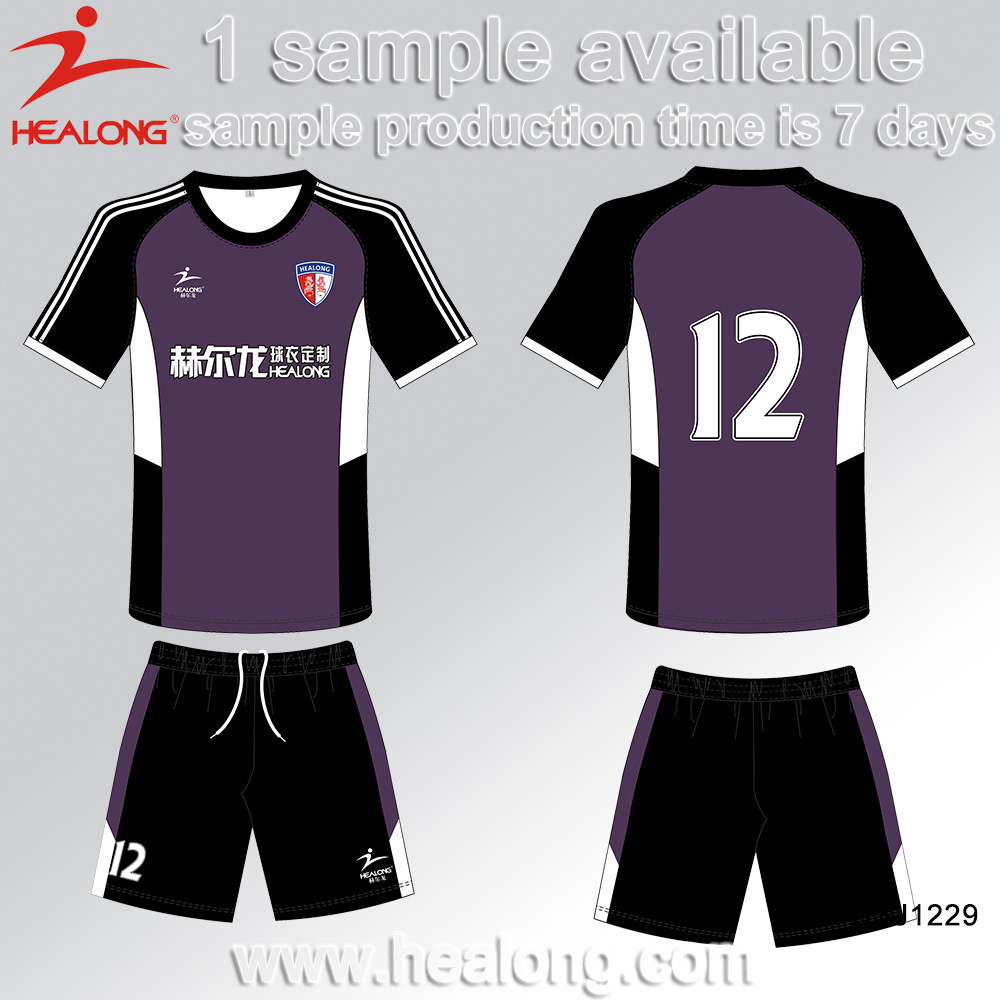 Healong Designer Digital Textile Printing Soccer Clothing