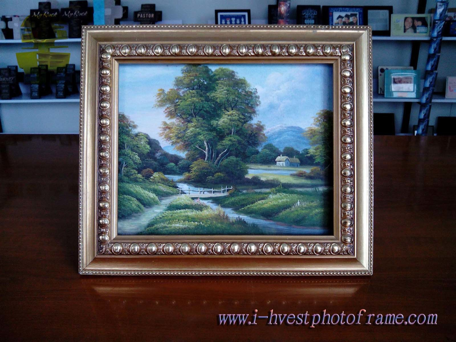 Solid, Beautiful and Artistic Wood Art Painting Frame (APF14001)