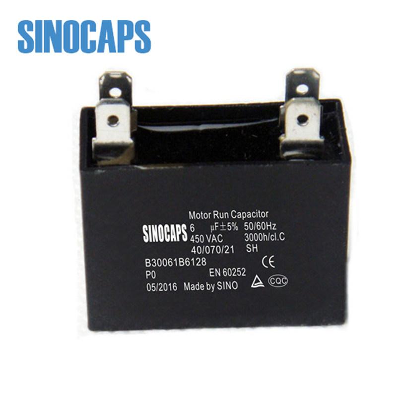 AC Motor Run Fan Capacitor Film Capacitor Cbb60 Cbb61 Bangladesh Capacitors