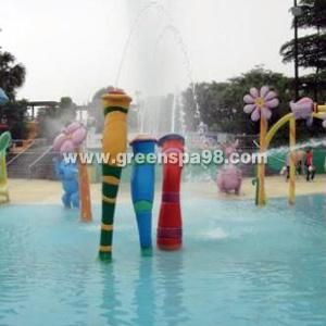 Cartoon Spout Spray for Water Park, Aqua Play Equipment