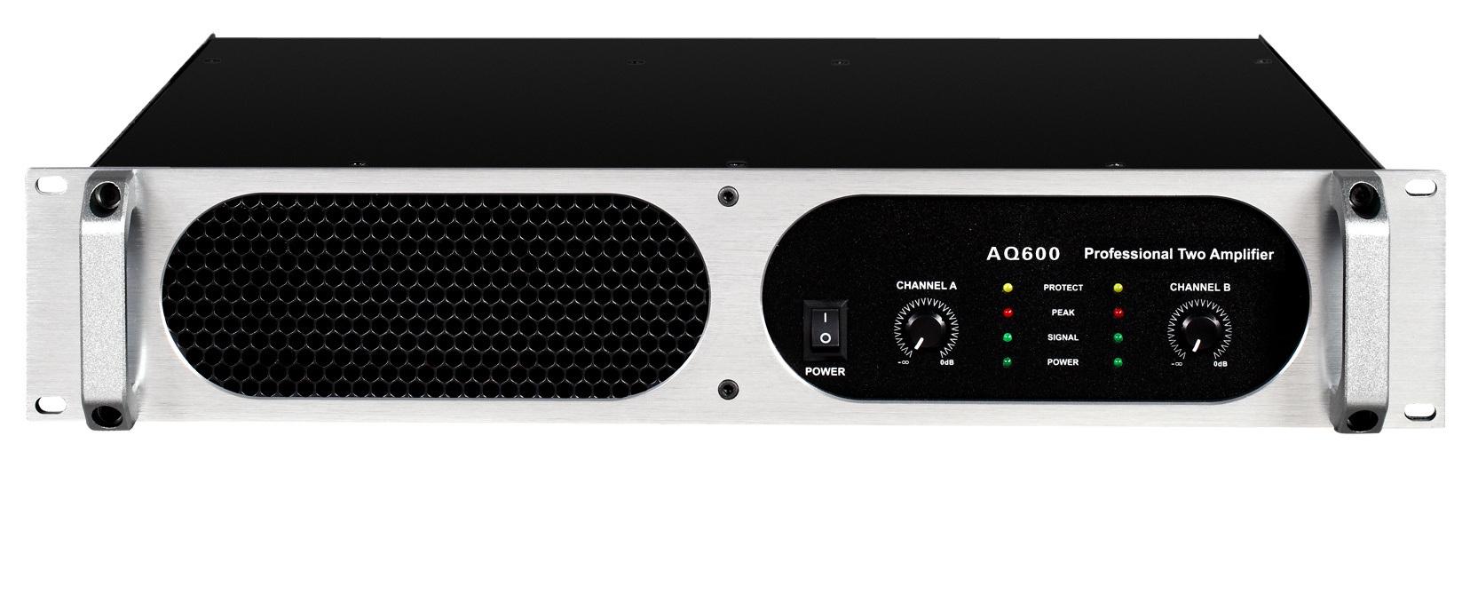 QA Series, 2 Channels Professional Power Amplifier 2u Standard Cabinet
